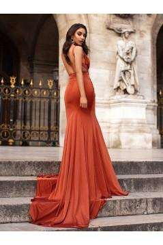 Mermaid Long Prom Dress Formal Evening Dresses 601752