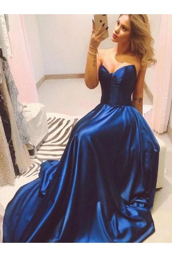 A-Line Sweetheart Long Prom Dress Formal Evening Dresses 601753