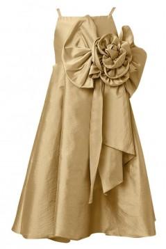 A-Line Spaghetti Strap Flower Girl Dresses F010010