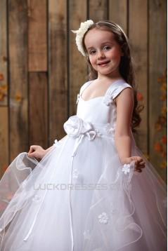 Beautiful Straps Sleeveless Flower Girl Dresses 2050001
