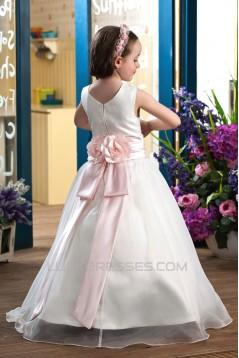 A-Line Floor-Length Flower Girl Dresses 2050002