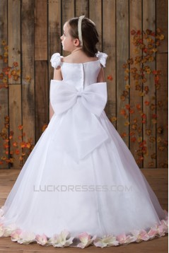 A-Line Floor-Length Flower Girl Dresses 2050006