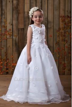 Ball Gown Floor Length Beaded Flower Girl Dresses 2050013