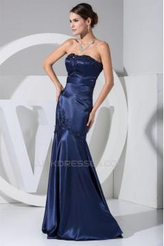 Mermaid/Trumpet Beading Sleeveless Strapless Mother of the Bride Dresses 2040015