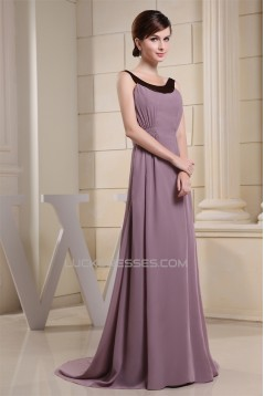 A-Line Chiffon Floor Length Mother of the Bride Dresses 2040030