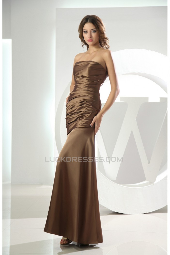 Mermaid/Trumpet Strapless Sleeveless Mother of the Bride Dresses 2040094