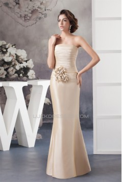 Sheath Strapless Mother of the Bride Dresses with A 3/4 Sleeve Jacket 2040106