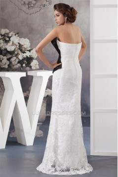 Floor-Length Satin Lace Sheath/Column Sleeveless Mother of the Bride Dresses 2040126