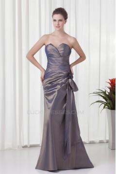 A-Line Sweetheart Floor-Length Taffeta Sleeveless Mother of the Bride Dresses 2040179