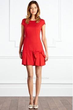 Short/Mini Short Sleeve Mother of the Bride Dresses 2040208