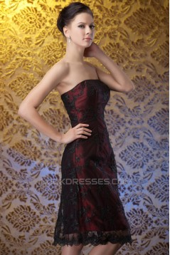 Short Keen-Length Lace Mother of the Bride Dresses with A Jacket 2040213
