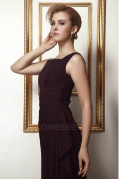 A-Line Long Chiffon Mother of the Bride Dresses with A 3/4 Sleeve Jacket 2040218