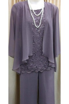 Lace and Chiffon Mother of The Bride Dresses Mother of The Groom Dresses 602015