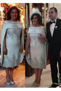 Beaded Lace Appliques Mother of The Bride and Groom Dresses 602027