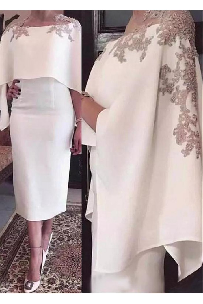 Elegant White Mother of The Bride Dresses 602094