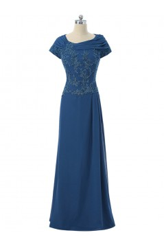 Beaded Lace Appliques Long Mother of The Bride Dresses 602150