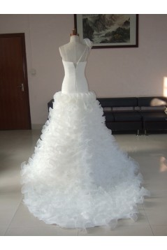 Ball Gown One Shoulder Bridal Wedding Dresses WD010070
