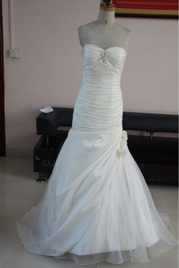 Trumpet/Mermaid Sweetheart Bridal Wedding Dresses WD010080