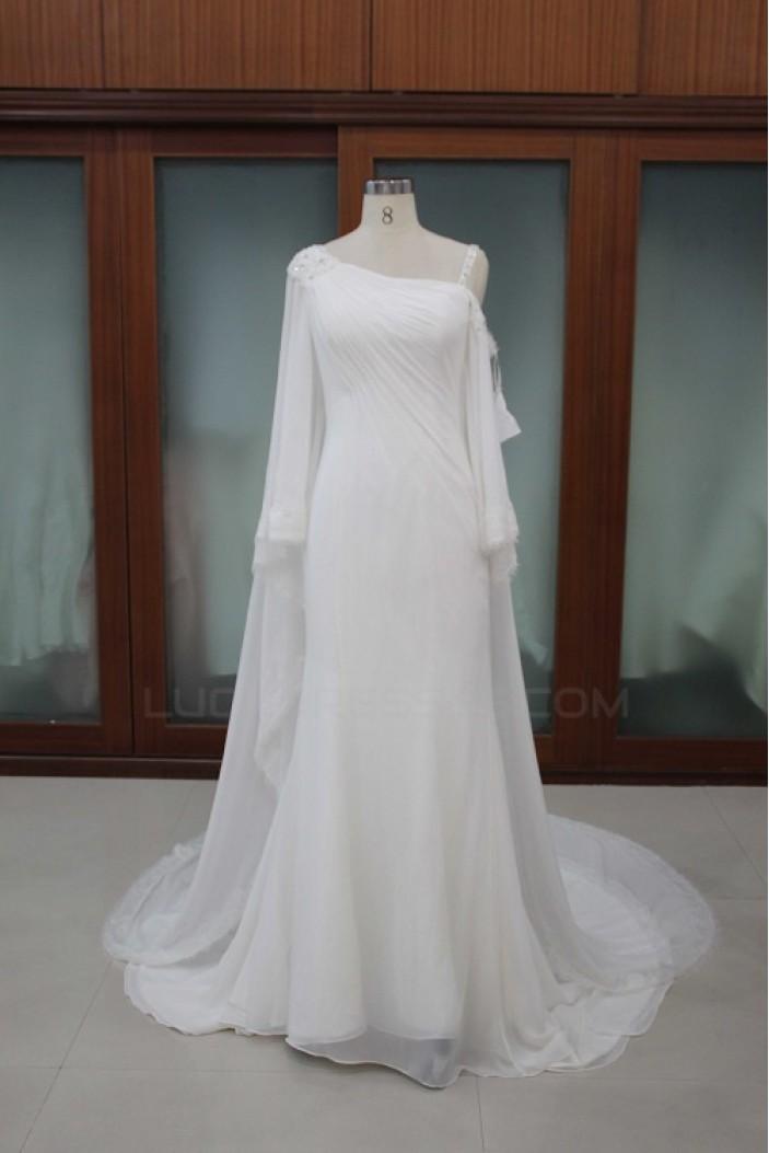 Sheath/Column Bridal Wedding Dresses WD010105