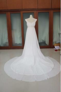 Trumpet/Mermaid Chapel Train Bridal Wedding Dresses WD010109