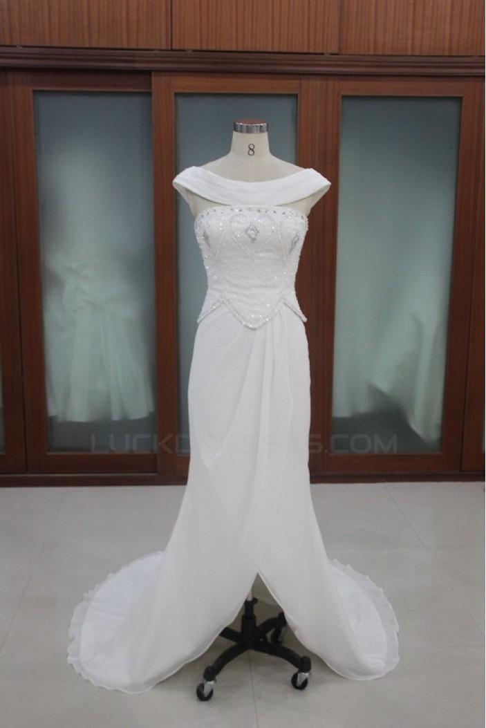 Sheath/Column Bridal Wedding Dresses WD010114
