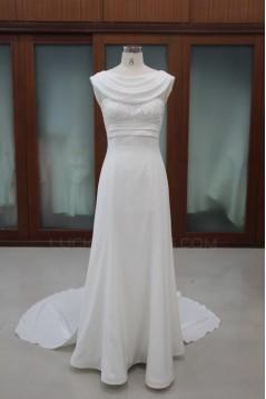 Sheath/Column Bridal Wedding Dresses WD010115