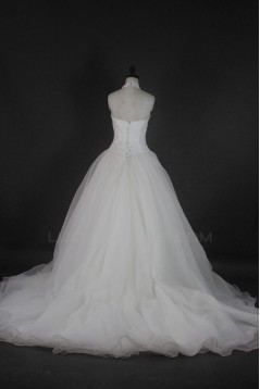 Ball Gown Halter Beaded Bridal Wedding Dresses WD010123