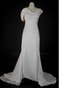 Sheath/Column Bridal Wedding Dresses WD010130