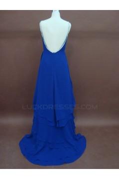 Cheap Sheath/Column Chiffon Bridal Wedding Dresses WD010145