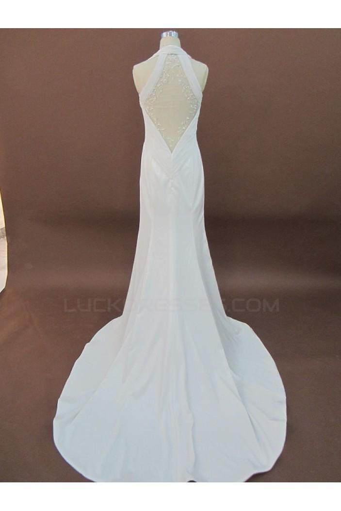 Elegant Sheath/Column Bridal Wedding Dresses WD010146
