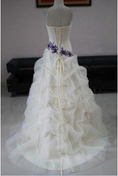 Ball Gown Strapless Bridal Wedding Dresses WD010204