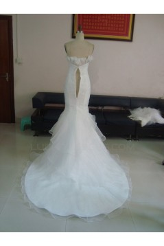 Trumpet/Mermaid Sweetheart Bridal Wedding Dresses WD010219