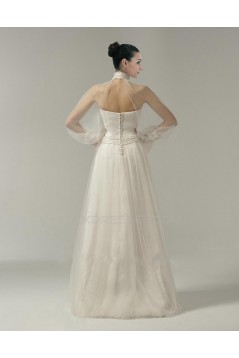 A-line Strapless Bridal Wedding Dress WD010237