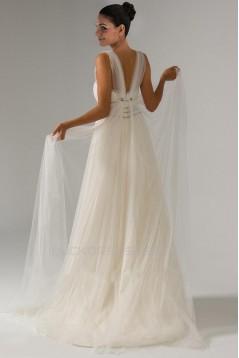 Sheath/Column Straps Bridal Wedding Dress WD010238