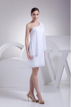 Short/Mini One Shoulder Bridal Gown WD010256