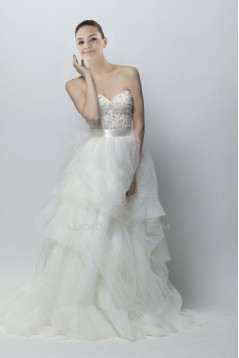 Ball Gown Sweetheart Court Train Bridal Gown WD010270