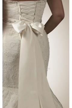 Trumpet/Mermaid Plus Sizes Sweetheart Lace Bridal Wedding Dresses WD010301