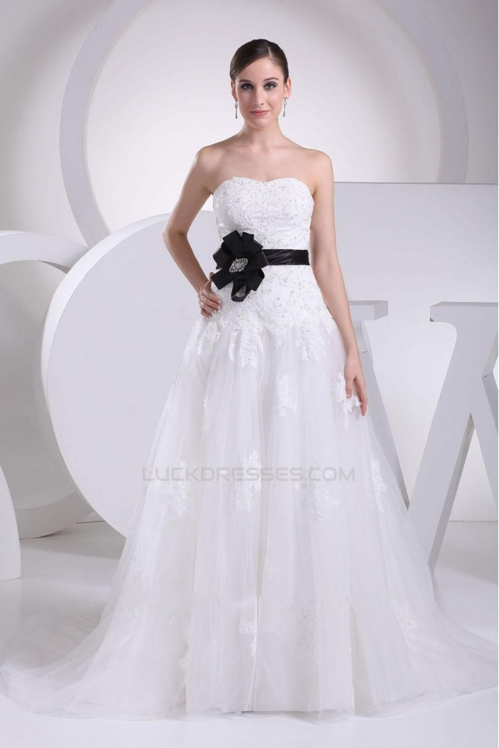 A-line Sweetheart Bridal Wedding Dresses WD010312