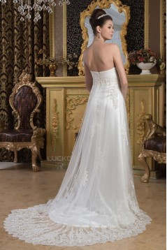 A-line Sweetheart Lace Bridal Wedding Dresses WD010316