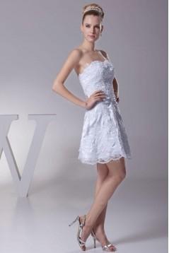A-line Short/Mini Bridal Wedding Dresses WD010334