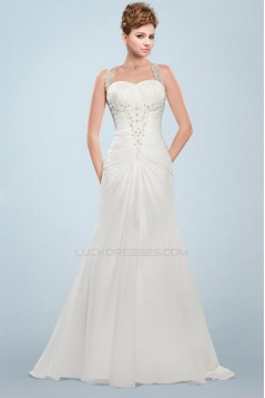 Elegant Beaded Bridal Wedding Dresses WD010344