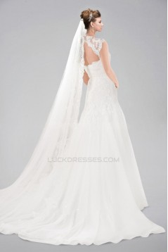 A-line Sweetheart Straps Lace Bridal Wedding Dresses WD010347