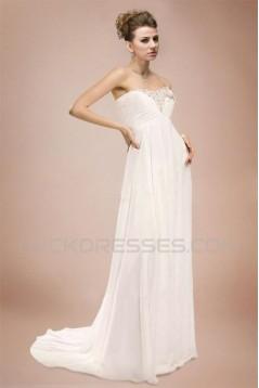 Empire Sweetheart Chiffon Bridal Wedding Dresses WD010349