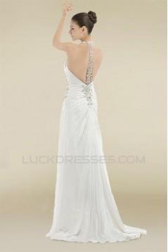 Elegant Sheath/Column Bridal Wedding Dresses WD010377