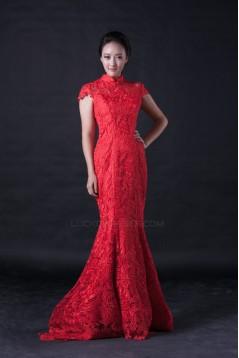 Trumpet/Mermaid Lace Bridal Wedding Dresses WD010397