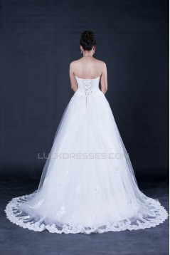 A-line Sweetheart Lace Bridal Wedding Dresses WD010400