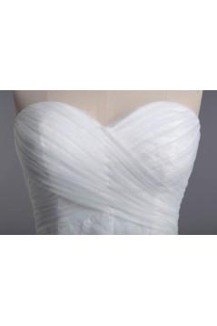 Trumpet/Mermaid Sweetheart Lace Bridal Wedding Dresses WD010425