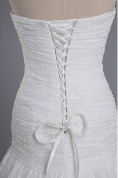 Trumpet/Mermaid Beaded Lace Bridal Wedding Dresses WD010428