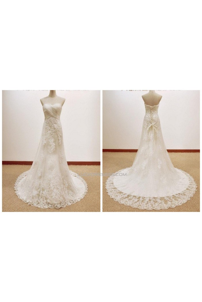Elegant Sweetheart Lace Bridal Gown Wedding Dress WD010433