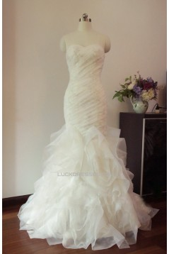 Trumpet/Mermaid Sweetheart Lace Bridal Gown Wedding Dress WD010446